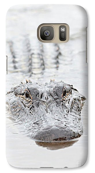 Sneaky Swamp Gator Galaxy S7 Case by Carol Groenen