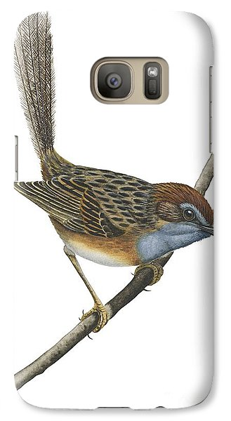Southern Emu Wren Galaxy Case by Anonymous