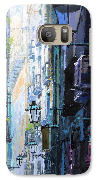 Spain Series 06 Barcelona Galaxy Case by Yuriy Shevchuk