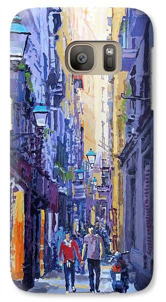 Spain Series 10 Barcelona Galaxy Case by Yuriy Shevchuk