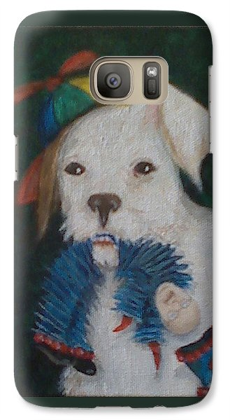 Sparky And Dick Galaxy S7 Case by Georgia Griffin