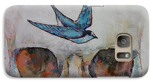 Sparrow Galaxy S7 Case by Michael Creese
