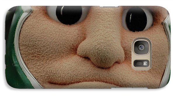 Sparty Face  Galaxy Case by John McGraw