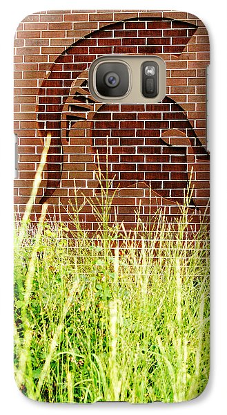 Sparty On The Wall Galaxy Case by John McGraw
