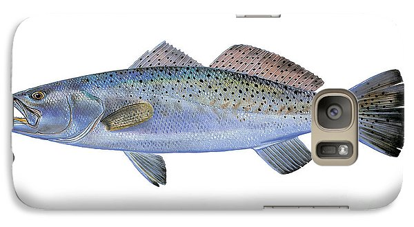Speckled Trout Galaxy Case by Carey Chen