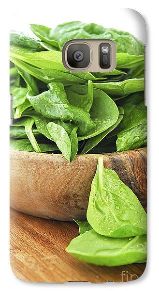 Spinach Galaxy Case by Elena Elisseeva