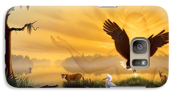 Spirit Of The Everglades Galaxy S7 Case by Jerry LoFaro