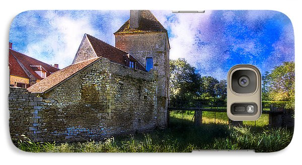 Spring Romance In The French Countryside Galaxy S7 Case by Debra and Dave Vanderlaan
