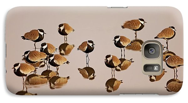 Spur-winged Lapwing (vanellus Spinosus) Galaxy Case by Photostock-israel
