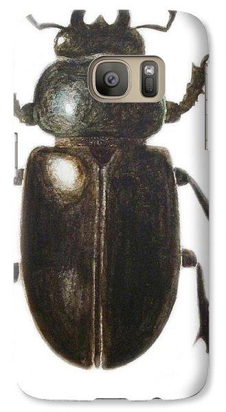 Stag Beetle Galaxy Case by Ele Grafton