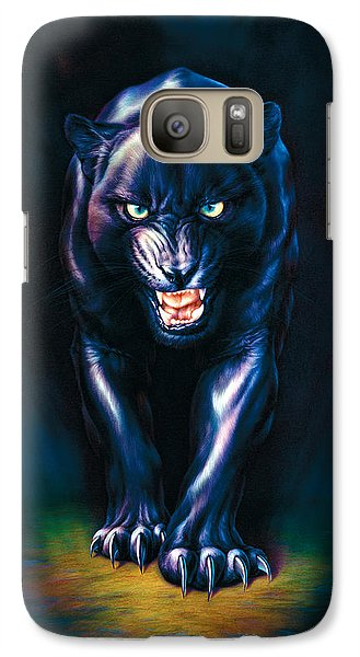 Stalking Panther Galaxy S7 Case by Andrew Farley