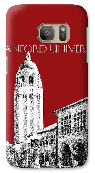Stanford University - Dark Red Galaxy S7 Case by DB Artist