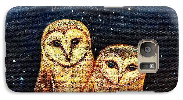 Starlight Owls Galaxy S7 Case by Shijun Munns