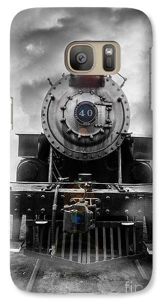 Steam Train Dream Galaxy S7 Case by Edward Fielding