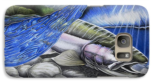 Steelhead Dreams Galaxy Case by Nick Laferriere