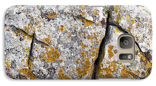 Stone Background Galaxy Case by Sinisa Botas