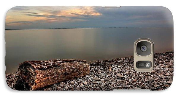 Stone Beach Galaxy S7 Case by James Dean