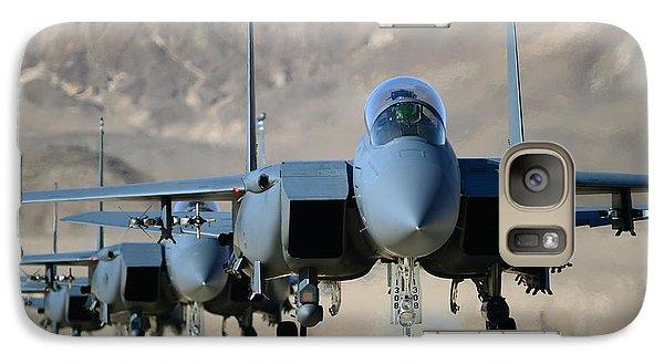 Strike Eagles Galaxy Case by Master Sgt Lee Osberry