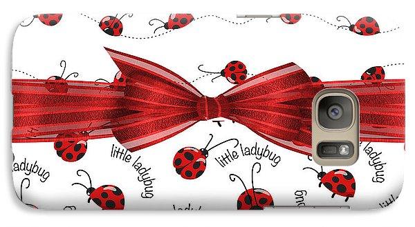 Stylish Ladybugs Galaxy S7 Case by Debra  Miller