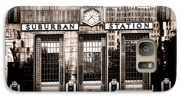 Suburban Station Galaxy Case by Olivier Le Queinec
