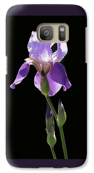 Sun-drenched Iris Galaxy Case by Rona Black
