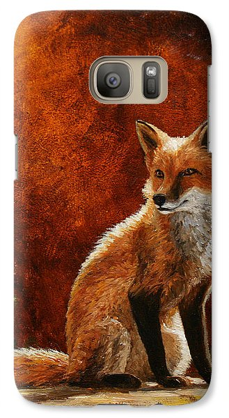 Sun Fox Galaxy Case by Crista Forest