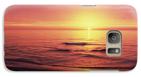 Sunset Over The Sea, Venice Beach Galaxy Case by Panoramic Images