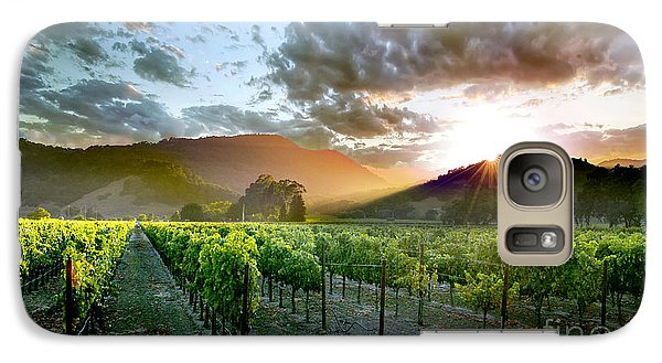 Wine Country Galaxy S7 Case by Jon Neidert