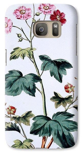 Sweet Canada Raspberry Galaxy S7 Case by John Edwards
