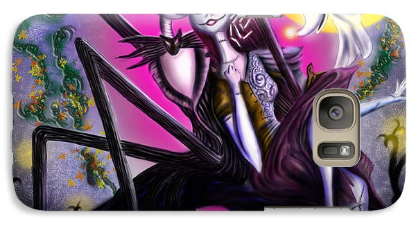 Sweet Loving Dreams In Halloween Night Galaxy Case by Alessandro Della Pietra