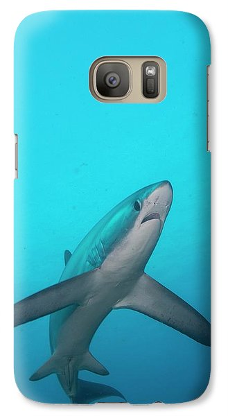 Swimming Thresher Shark Galaxy Case by Scubazoo