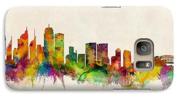 Sydney Skyline Galaxy S7 Case by Michael Tompsett