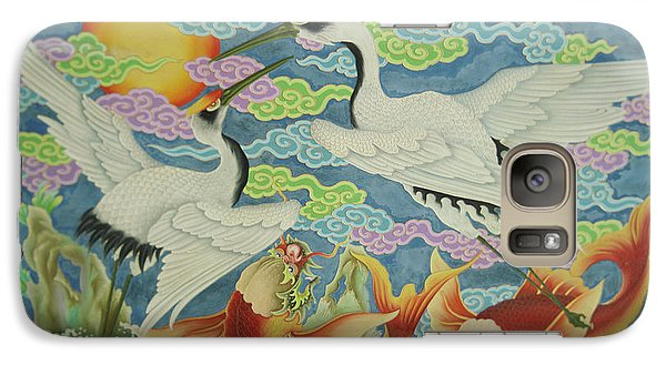 Taiwan, Peimen, Nankunshen Temple Galaxy Case by Jaynes Gallery
