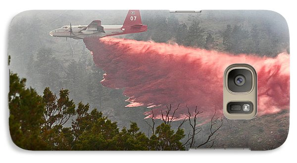 Galaxy Case featuring the photograph Tanker 07 On Whoopup Fire by Bill Gabbert