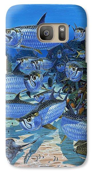 Tarpon Alley In0019 Galaxy S7 Case by Carey Chen
