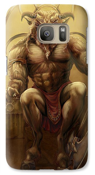 Taurus II Galaxy S7 Case by Rob Carlos