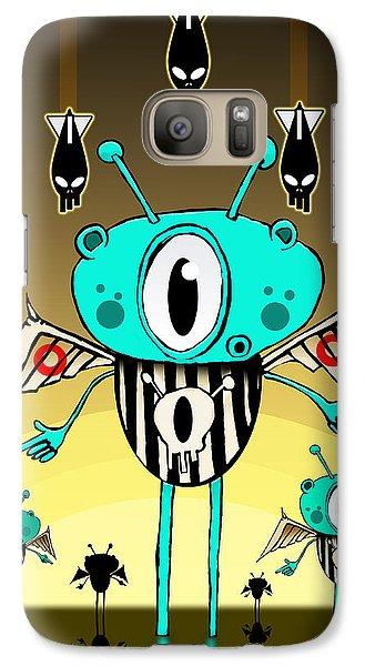 Team Alien Galaxy S7 Case by Johan Lilja
