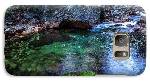 Teneya Creek Yosemite National Park Galaxy Case by Scott McGuire