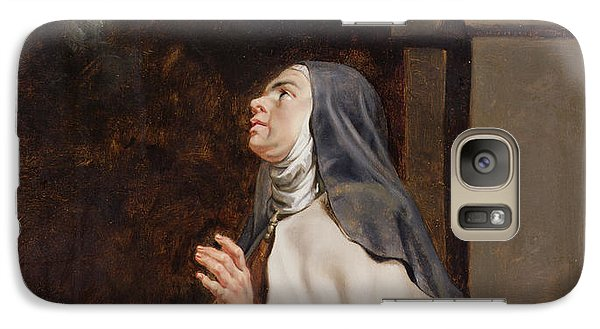 Teresa Of Avilas Vision Of A Dove Galaxy S7 Case by Peter Paul Rubens