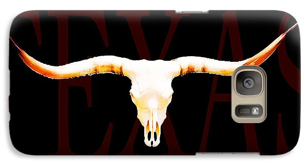 Texas Longhorns By Sharon Cummings Galaxy Case by Sharon Cummings