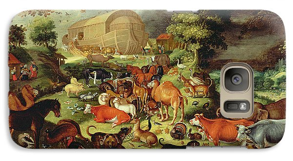 The Animals Entering The Ark Galaxy Case by Jacob II Savery