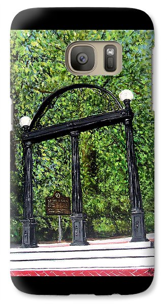 The Arch At Uga Galaxy Case by Katie Phillips