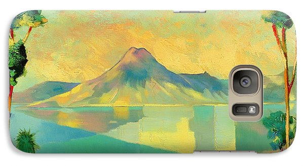 The Art Of Long Distance Breathing Galaxy S7 Case by Andrew Hewkin