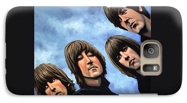 The Beatles Rubber Soul Galaxy Case by Paul Meijering