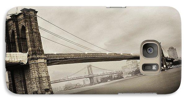 The Brooklyn Bridge Galaxy Case by Eli Katz