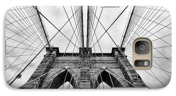 The Brooklyn Bridge Galaxy Case by John Farnan