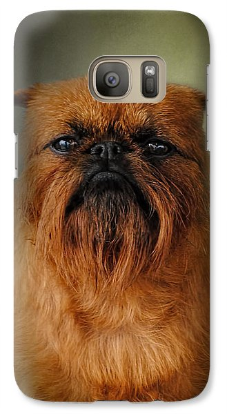The Brussels Griffon Galaxy S7 Case by Jai Johnson