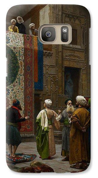 The Carpet Merchant Galaxy S7 Case by Jean Leon Gerome