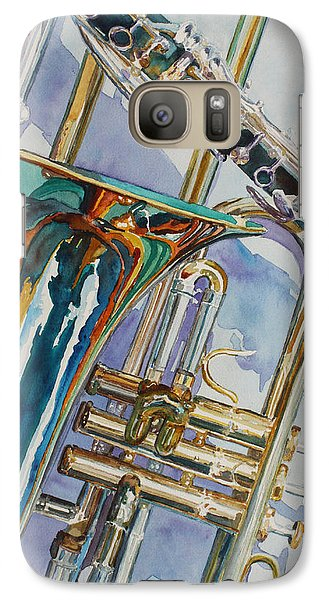 The Color Of Music Galaxy S7 Case by Jenny Armitage