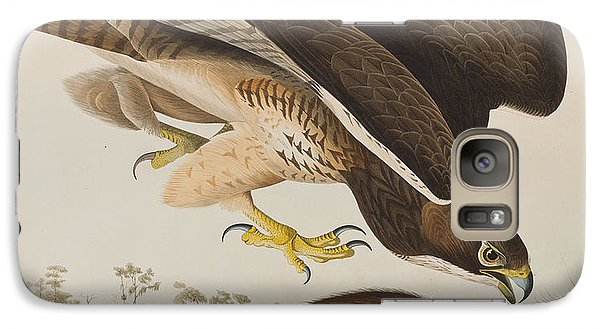 The Common Buzzard Galaxy S7 Case by John James Audubon